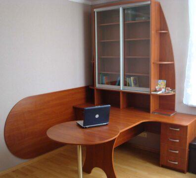 шкаф-купе с письменным столом