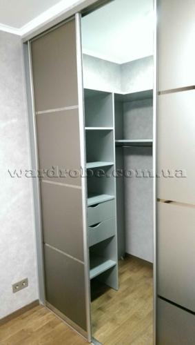 гардероб шкаф купе, лево