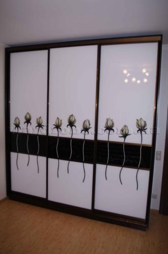 дизайнерский шкаф купе в спальню